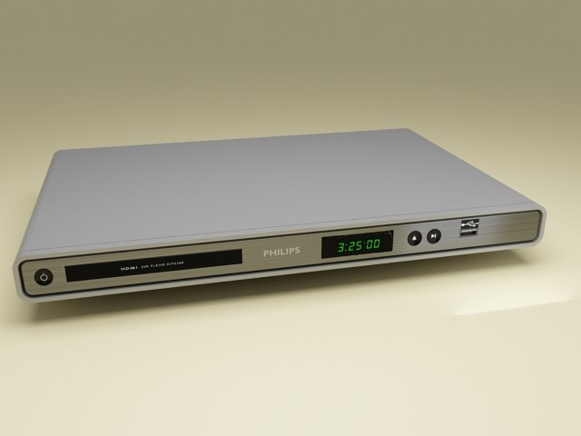 3d philips dvd player