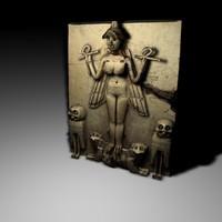 c4d goddess inanna