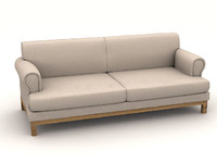 3d long sofaa