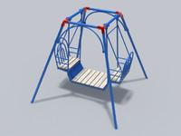 3d model of swing 01