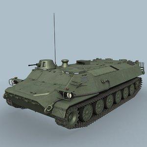 mt-lb soviet russian 3d model