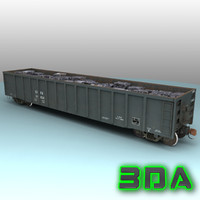 Railroad gondola E530 CEFX
