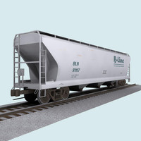 Train Car: Grain Hopper
