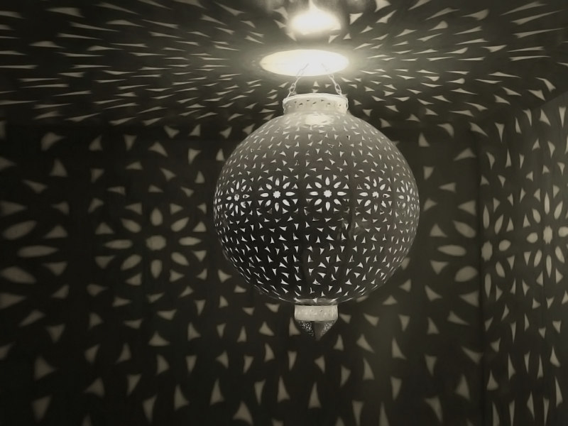 3d model magical ball chandelier atmosphere light