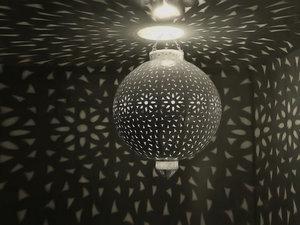 3d model magical ball chandelier atmosphere light