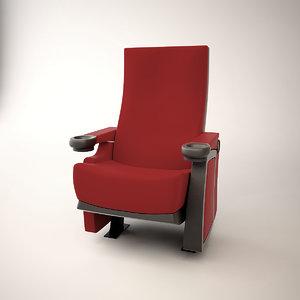 chair armchair seating 3d max