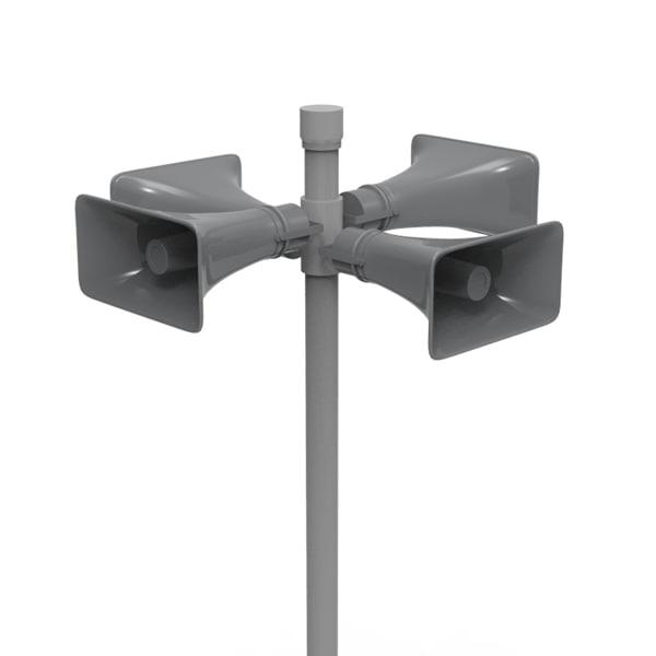 3dsmax public speaker loudspeaker
