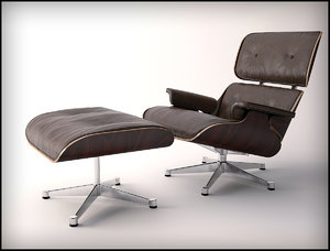 3d eames leather