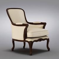 Pottery Barn - Baxter Leather Club Armchair (2) (2)