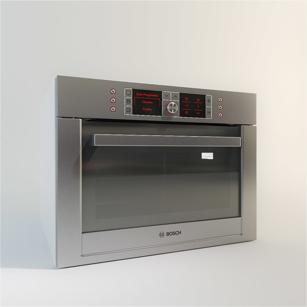 3d bosch integrated microwave model