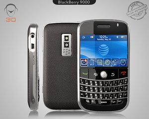 3d blackberry 9000