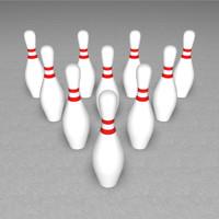 c4d bowling pin