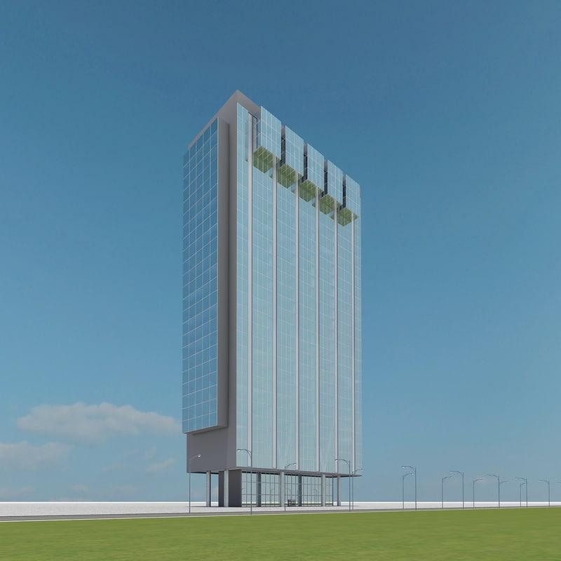 3ds max new skyscraper 77