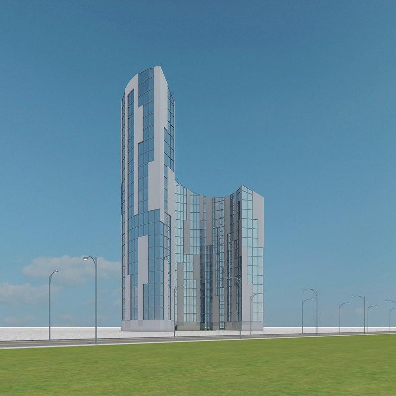 3d new skyscraper 76