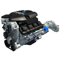 Dodge Ram V8 Engine & Transmission