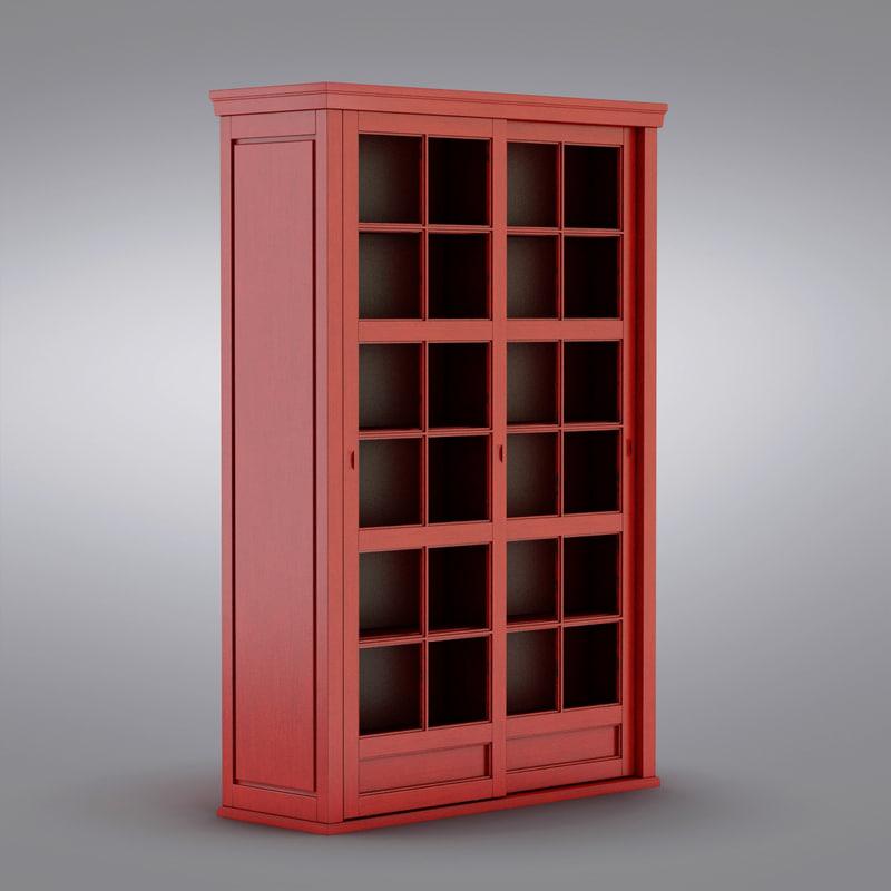 Beau Pottery Barn   Andover Cabinet   Garrett Glass Cabinet