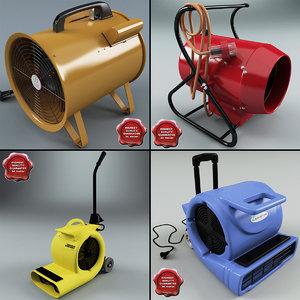 industrial air blowers 2 c4d