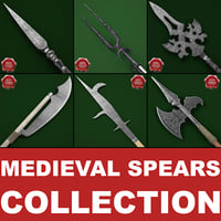Medieval Spears Collection V2