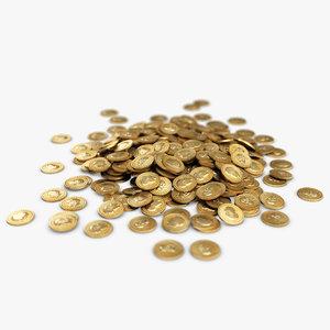 medium heap gold coins max