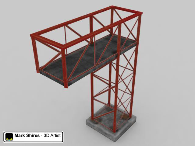 metal scaffold structure max