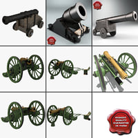 Old Cannons Collection 3