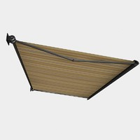 Patio Retractable Extended awning fabric tent