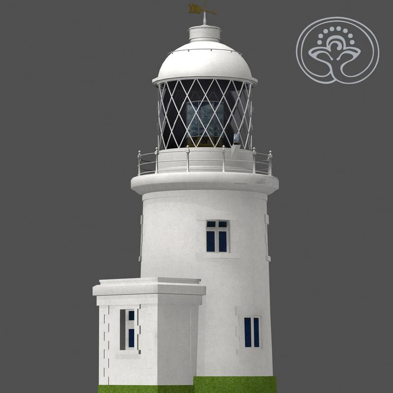 pendeen lighthouse 3d max