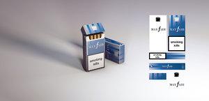10 pack mayfair cigarettes 3d c4d