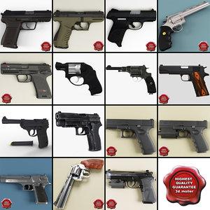 3d pistols v6