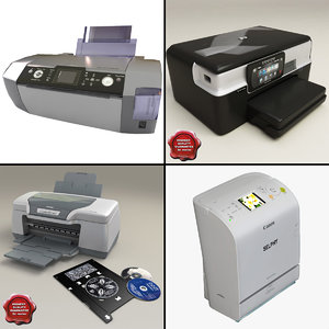 printers v2 3d model