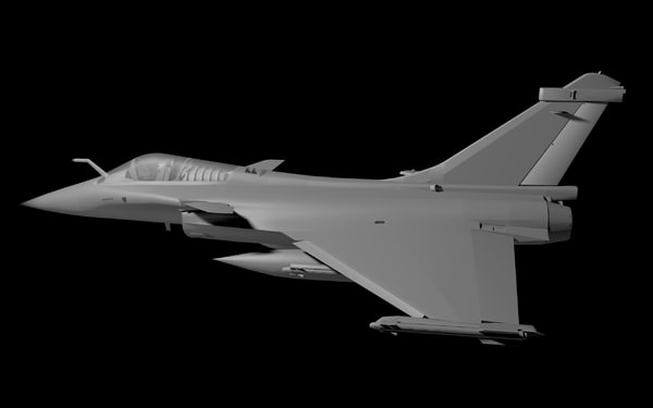 3ds max french rafale