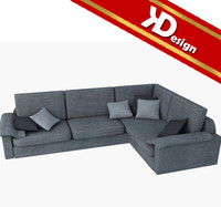 3d max modern sofa