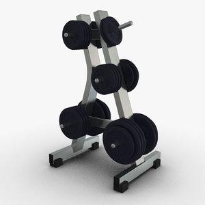 obj stand weights