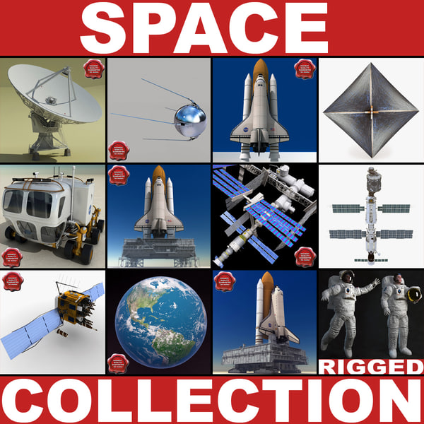 space v3 3d 3ds