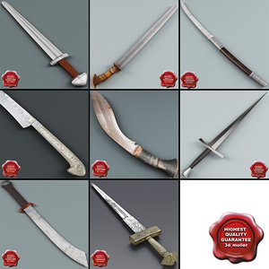 3dsmax swords v2