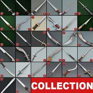 3d model swords v7