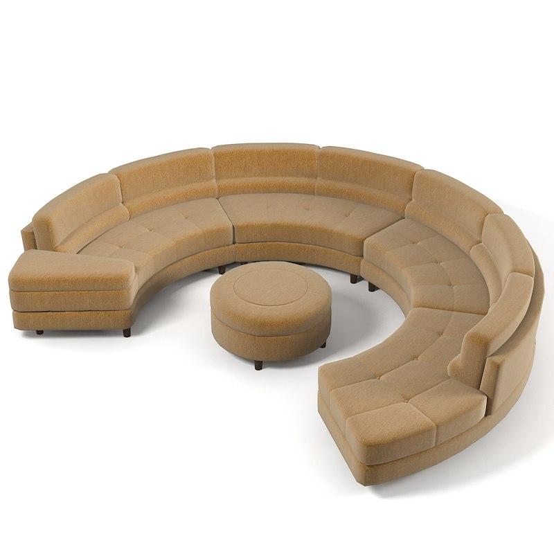 wasser sectional sofa 3ds. Black Bedroom Furniture Sets. Home Design Ideas