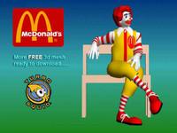 mcdonald s 3d max