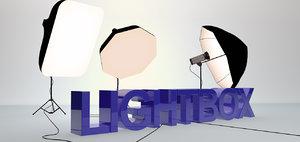 lightbox kit lighting c4d