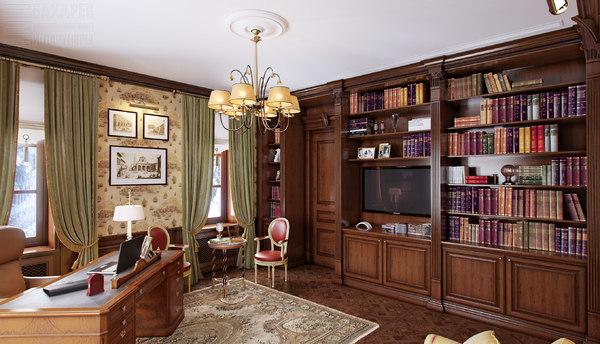 3d classic cabinet model