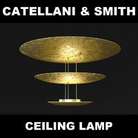 lamp catellani 3d model