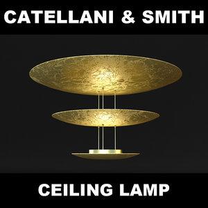 lamp catellani 3d model