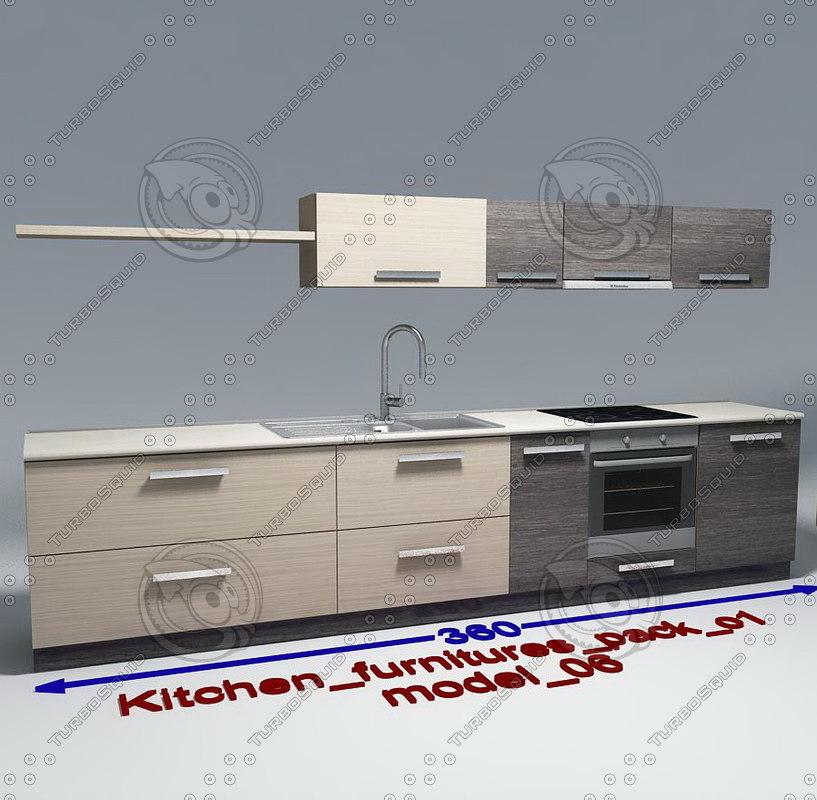 kitchen furnitures 06 max