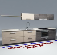 Kitchen furnitures with accesories model 06