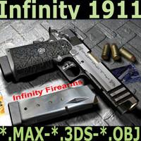 maya infinity 1911 ipsc pistol weapons