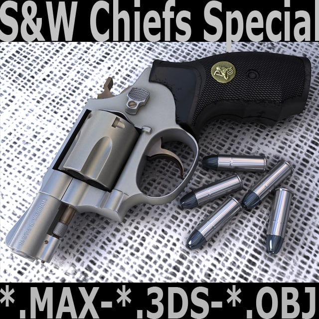 3d chiefs special model