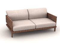 3d model sofa s218b