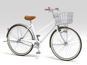 3d city bike model