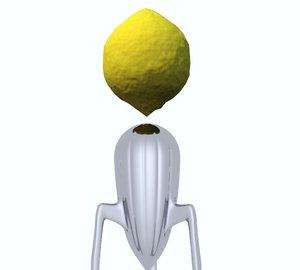 3d juicy salif lemon squeezer model
