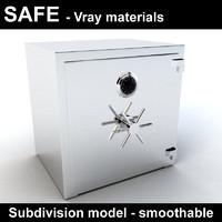 Safe - vray materials